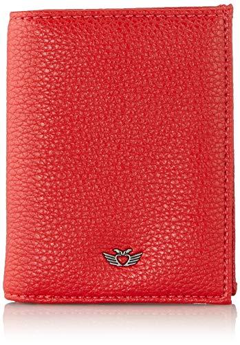 Fritzi aus Preussen Damen Tyra Geldbörse, Rot (Red), 2.5x8.5x10.5 cm