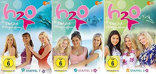 H2O - Plötzlich Meerjungfrau Staffel 1-3 (1+2+3) [DVD Set] H20 - Heine Set
