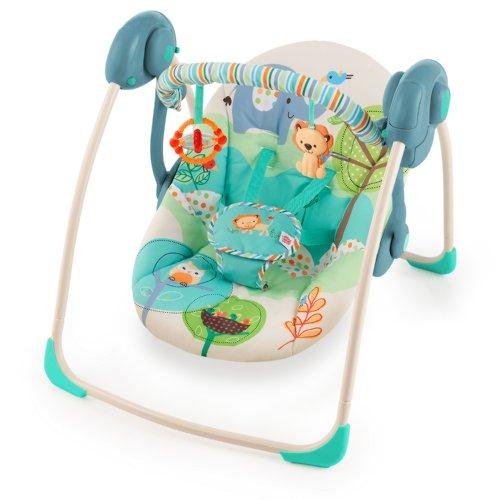 Bright Starts 60134 Babyschaukel Playful Pals, portable