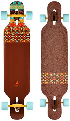 Firefly Longboard-262238 Longboard, Braun, One Size