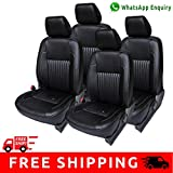 #6: Autofact Brand PU Leatherite Car Seat Covers for Toyota Innova 7 Seater in Full Black