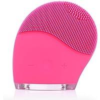 Quimat SK-1068 - Limpiador Facial y Masajeador Sonico Recargable (Rosa)