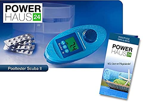 Lovibond Scuba II Testeur de chlore/pH électronique pour piscine/jacuzzi