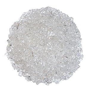 Bergkristall 500 Gramm mini Edelsteine Trommelsteine Lade Steine Größe ca. 3-7 mm schöne klare Qualität.(