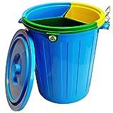 Imagen de Fapil 10798   Cubo para reciclaje con 3