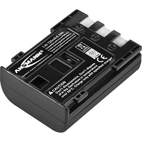 ANSMANN Li-Ion Akku A-Can NB 2 LH 7 4V / Typ 720mAh / Leistungsstarke Akkubatterie für Foto Digitalkameras - der perfekte Ersatzakku für Canon Digicam uvm.