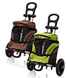 B Tourist Shopping Trolley Wheelie Bag Bicycle Trailer Load...