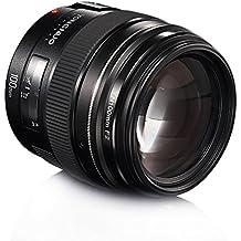 Yongnuo 100mm F2 longitud focal fija lente objetivo gran angular AF con EF bayoneta para Canon EF EOS cámara + TARION bolsa de almacenamiento