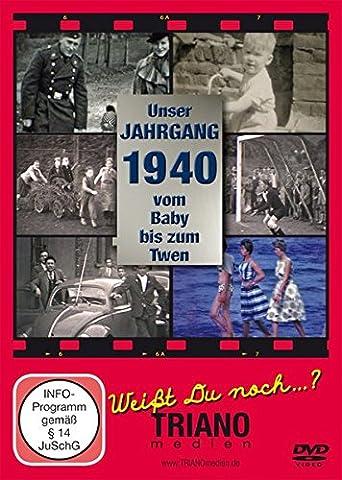 Unser Jahrgang 1940 - Vom Baby bis zum Twen: zum 77. Geburtstag