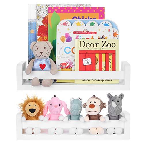 Vencipo Estantería Blanca para Libros Infantil