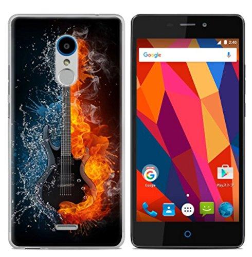 PREVOA  丨colorful Silikon Hülle Cover Case Schutzhülle Tasche für ZTE Blade V580 Smartphone - (15)