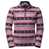 Jack Wolfskin Ice Kristall Pullover Kids 6 Jahre Rosebud All Over