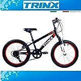 Bicicletta per bambini 20pollici Mountain Bike Bicicletta trinx Junior 1.0caricato a molla SHIMANO 6.g