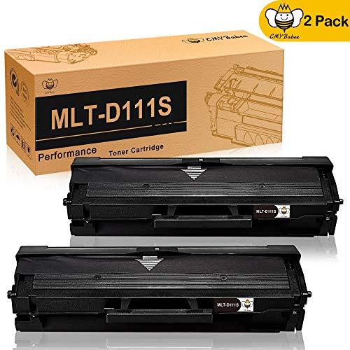 D111S MLT-D111SCartucce a Toner di Ricambio CMYBabee Ricambio perMLT-D111 111S Compatibili con Stampanti Samsung 111 Xpress SL-M2020 SL-M2022 L-M2026 SL-M2070 SL-M2020W SL-M2022W SSL-M2026W 2 Nero