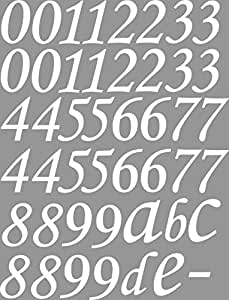 set xl 46 lot de chiffres chiffres lettres blanc je 10. Black Bedroom Furniture Sets. Home Design Ideas