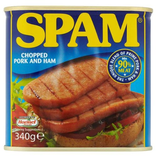 Spam Chopped Pork and Ham 340g Pack (6 x 340g)