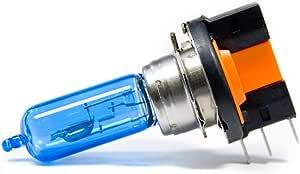 2 X H15 Auto Birne Halogen Lampe Pgj23t 1 6000k 15w 55w Xenon 12v Auto