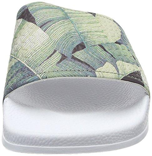 Slydes Herren Palm M Sandalen White (White Jungle)