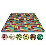 Picknickdecke wasserabw. mit Fotodruck, Auswahl: Größe - 200x200 cm Design - Brick, Stranddecke Kofferraumunterlage Campingdecke