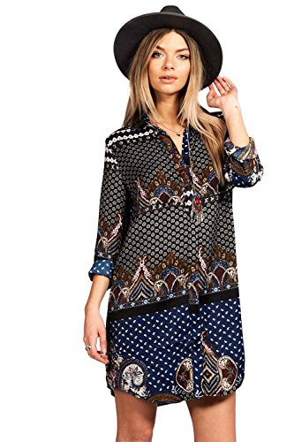 womens-debbie-paisley-border-print-shirt-dress-navy-8