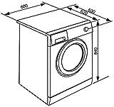 Smeg WHT1114LSIT Libera installazione Carica frontale 11kg 1400Giri/min A+++ Bianco lavatrice