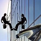 Fenster Spiegelfolie Silber Sichtschutzfolie 91cm Breite Fensterfolie Spion Design Folie