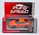CARRERA CAR17173 PORSCHE GT3 RS ORANGE PULL SPEED 1:43 MODELLINO MODEL