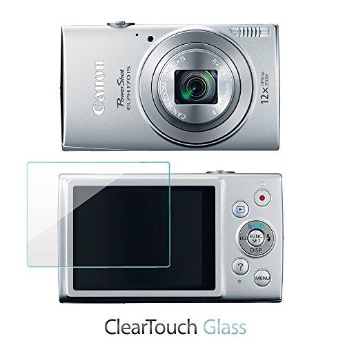canon-powershot-elph-170-is-pellicolar-boxwave-cleartouch-vetro-pellicola-proteggi-schermo-in-vetro-