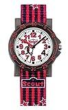 Scout Jungen Analog Quarz Uhr mit Textil Armband 280375006