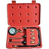LARS360 Automotive Compteur de compression de moto Compression Kit de test 0-20 bar ou 0-300 psi compresseur incl. Cas