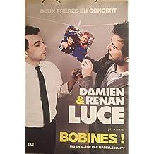 Damien ET Renan LUCE - Bobines! En concert - 70x100cm AFFICHE / POSTER