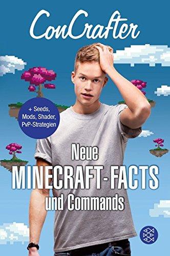 Buchseite und Rezensionen zu 'ConCrafter – Neue Minecraft-Facts und Commands' von Concrafter