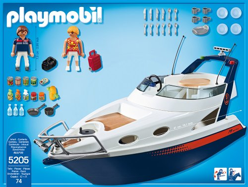 PLAYMOBIL 5205 - Luxusyacht -