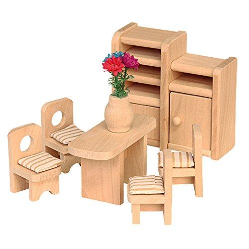 Französisch Esszimmer-möbel (Beluga Spielwaren 70124 - Puppenhausmöbel