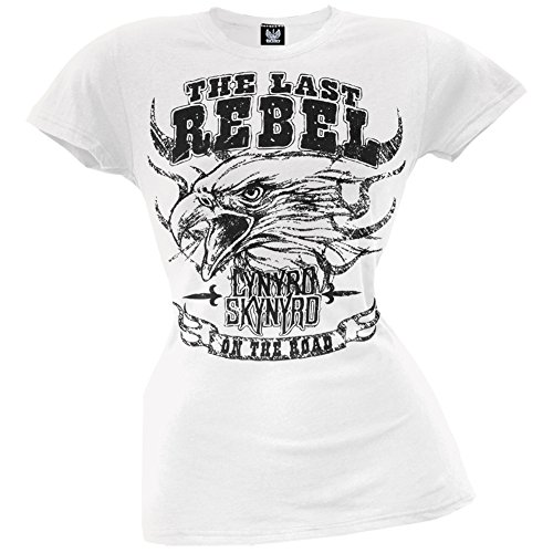Lynyrd Skynyrd - Last Rebel Juniors T-Shirt - X-Large (Damen Lynyrd Skynyrd T-shirt)