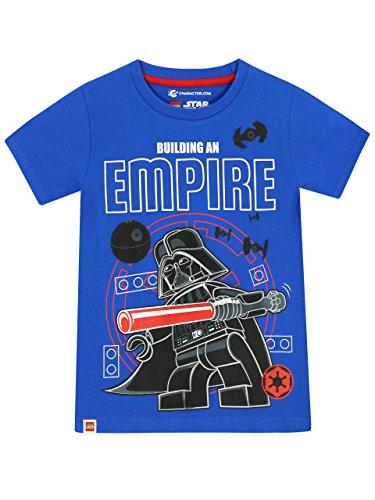 Lego Star Wars - Camiseta para niño - Lego Darth Vader - 5 - 6 Años