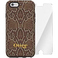 OtterBox Stradas Custodia per Apple iPhone 6/6s, Marrone, e Alpha Glass Protezione Schermo