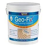Everbuild geofix20g geo-fix Pflastersteine Mörser 20kg–Grau