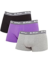 Lee Cooper Coton Stretch Lot de 3, Boxer Homme