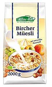 Allos Birchermüsli mit Amaranth, 1er Pack (1 x 2 kg)