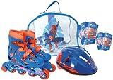 Spider Man Inline, Helmet, Elbow and Knee in Bag