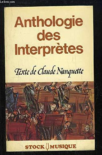 Anthologie des interprètes