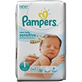 Pampers New Baby Taille 1 sensitve Essential Pack 39 par paquet csae de 1