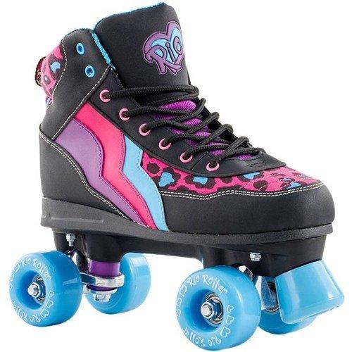 Rio Roller - Style Childrens Skate - Leopard/Black UK 13J / EU 32