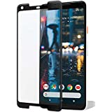 Superior Quality Black Full Screen Coverage 3D Curved Edge Tempered Glass For Google Pixel 2 XL (Black)