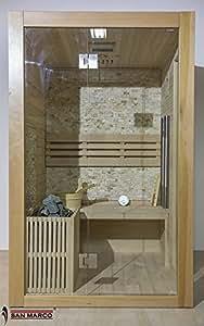 San Marco fuerteventura - Cabina sauna finlandese in legno per tre persone