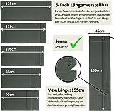 3er Set | Fitness-Handtuch mit Reißverschluss Fach + Magnetclip + extra Sporthandtuch | zum Patent angemeldetes Multifunktionshandtuch, Fit-Flip Microfaser Handtuch - 2