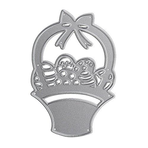 SULIFOR Prägemaschine Scherenform Schneidform Metall Stanzformen Schablone Für DIY Scrapbooking Album Papier Karte Dekor Handwerk(B) (Abc Von Punkt Zu Punkt Halloween)