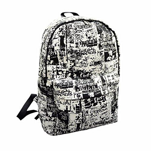 Transer® Zaino Studenti Zaini per Bambini Borse Tela Cartella Borsa Scuola per Media Ragazza Elementare Bambina Scuola Sacchetti Bambino (Nero)