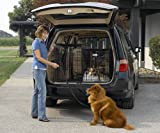 Best Wireless Dog Fences - MidWest Side-by-Side Double Door SUV Crate with Plastic Review